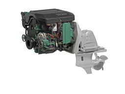Volvo Penta D3 with aquamatic drive is available with 140,170, 200 and 220 hp. It's a wholly new developed engines that was launched in 2009. The new model has electronic controls and all the amenities that was earlier only available on the D4 and D6. This five cylinder diesel engine weighs only ca 360 kg that makes it an excellent choice for day cruisers and smaller cabin cruisers.