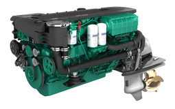 Volvo Penta D6 aquamatic is available with 330, 370 or 400 hp. A powerful marine six cylinder diesel eninge with 5.5 liter. With the new e-Key you have keyless access to your boat and makes it more safe against theft. The NMEA-interface lets you connect your engine to your plotter and autopilot for even easier control of your yacht.